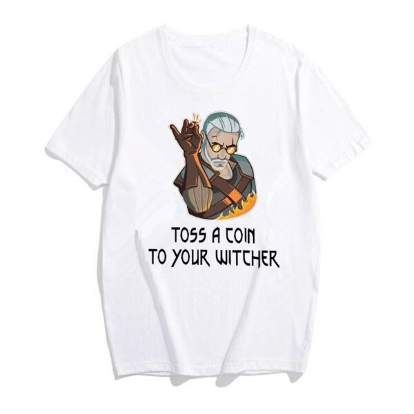 tshirt the witcher toss a coin