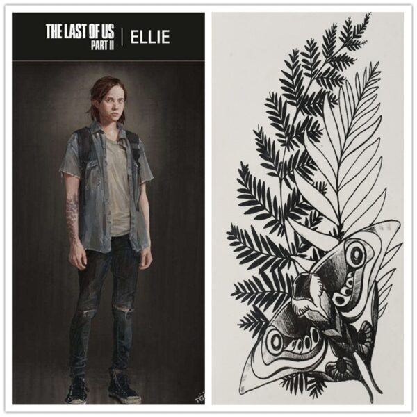 tatouage ellie the last of us