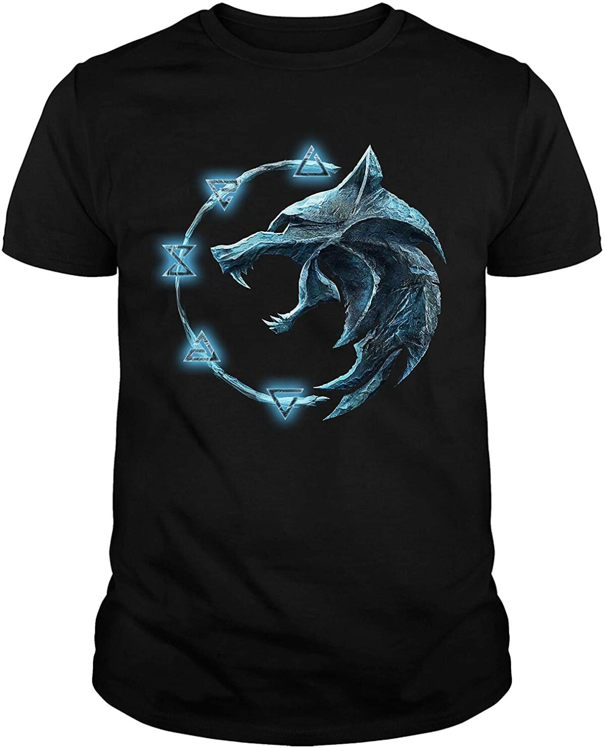 tshirt loup the witcher