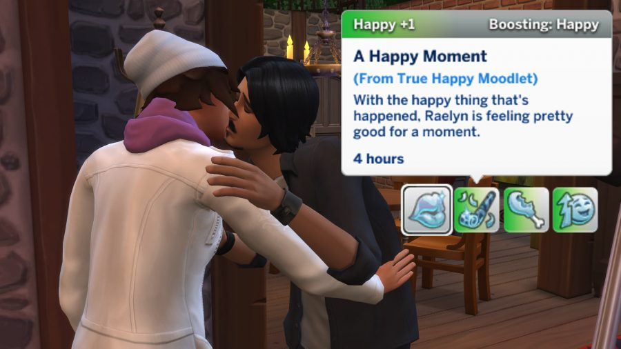 Les Sims 4 histoires significatives
