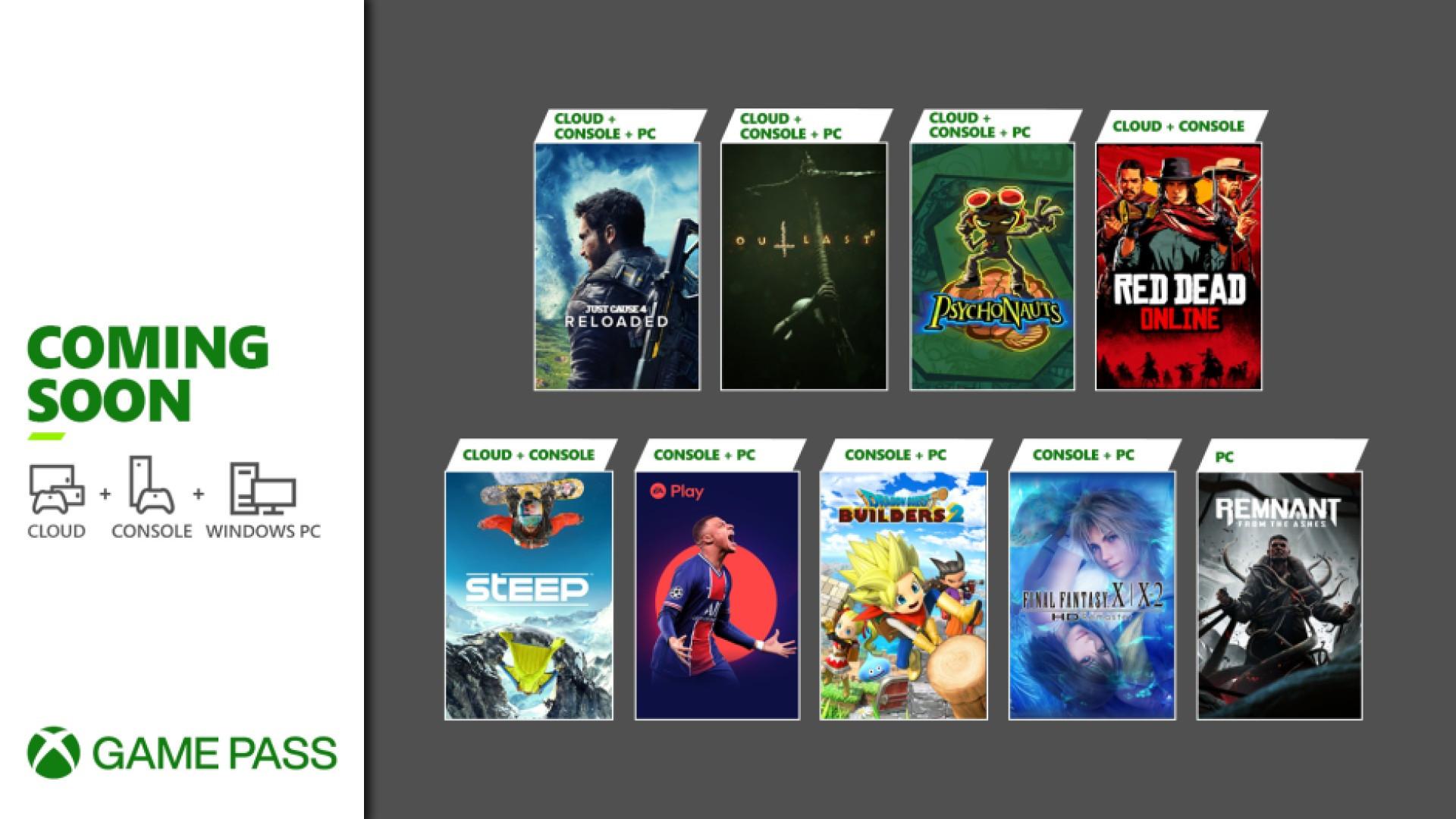 Xbox Game Pass - Mai 2021