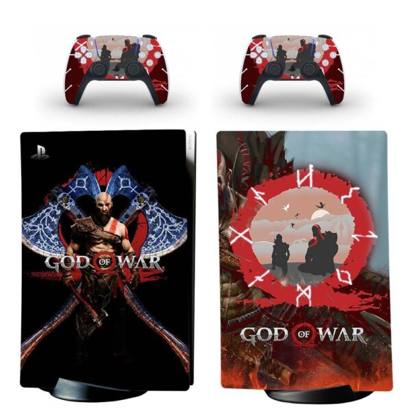 stickers ps5 god of war