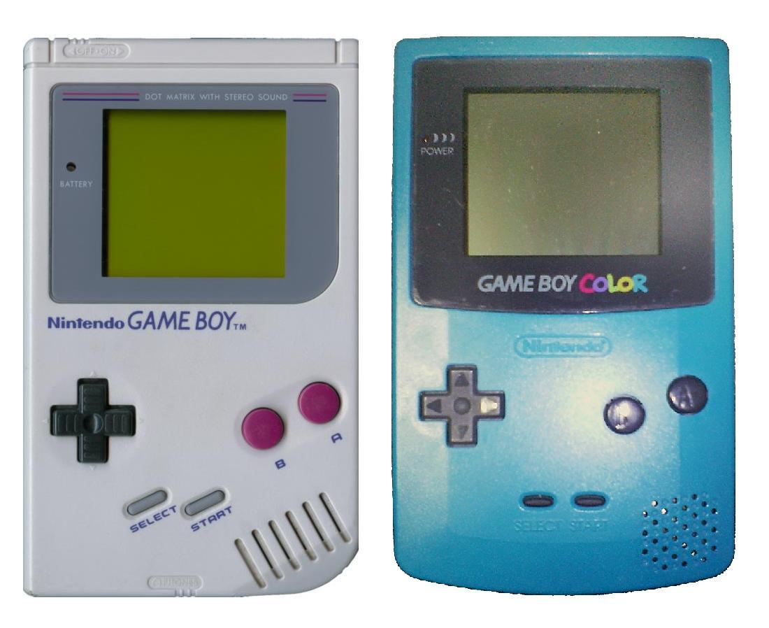 Les Game Boy première du nom et Game Boy Color