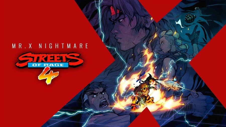 Streets of Rage 4 DLC Mr X Nightmare PS4 PlayStation 4 1