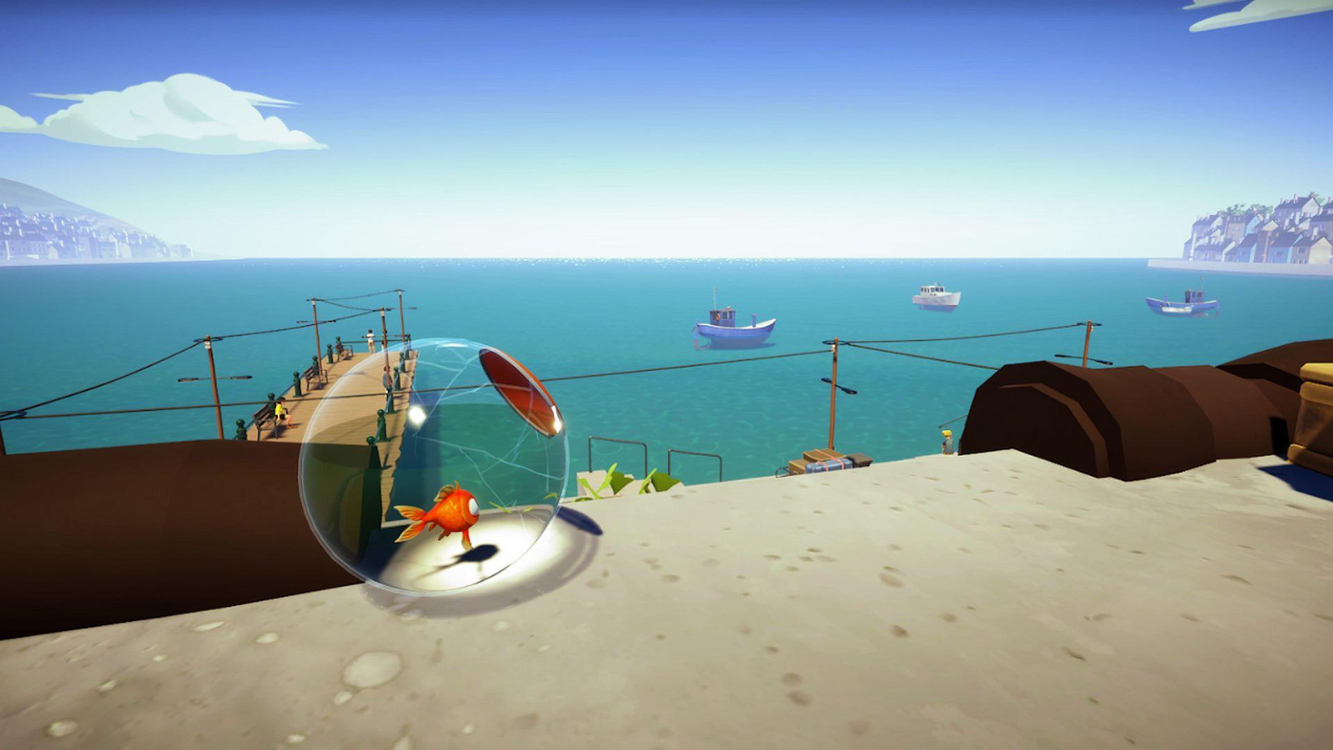 I Am Fish frappe DreamHack Beyond avec une démo, des goodies et un cadeau de carte-cadeau Steam