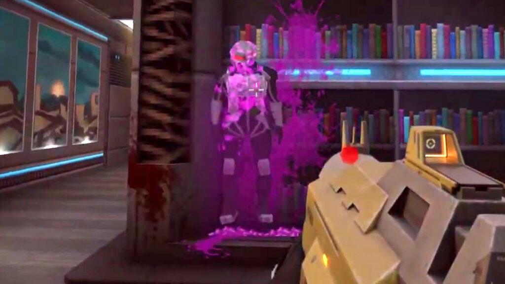 Le FPS Selaco inspiré de FEAR ajoute son emblématique Nailgun et une banane tueuse