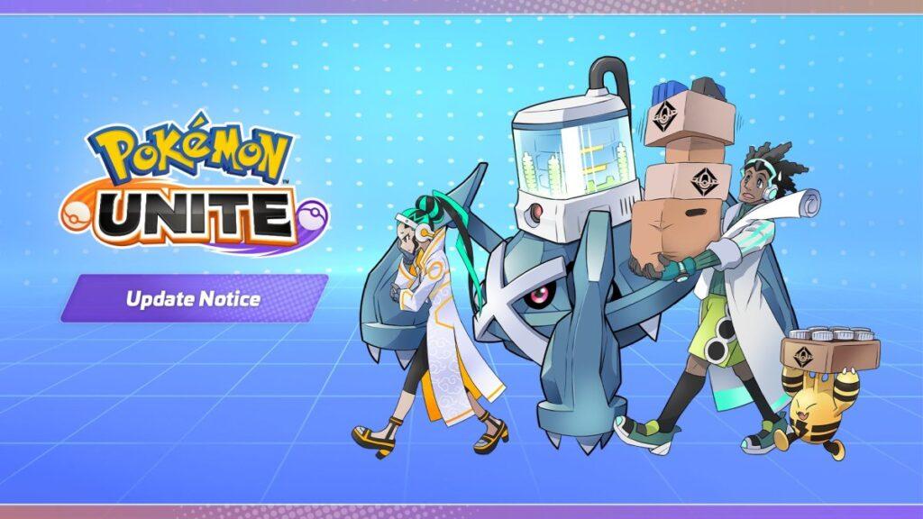 Pokemon UNITE devrait recevoir une mise à jour demain