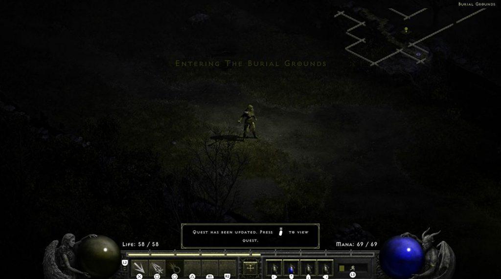 Diablo 2 ressuscité |  Où trouver les cimetières et Blood Raven