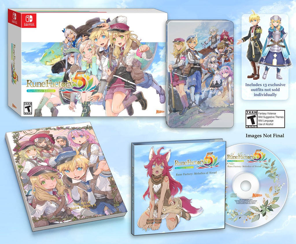 XSEED dévoile Earthmate Edition pour Rune Factory 5