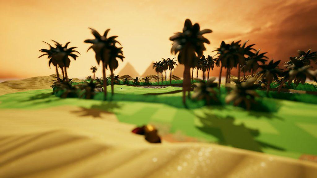 A Little Golf Journey est le jeu Switch relaxant que je ne savais pas que je voulais