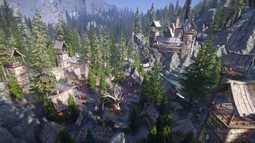 Le modder Skyrim donne à Falkreath sa propre identité avec une magnifique refonte du bâtiment